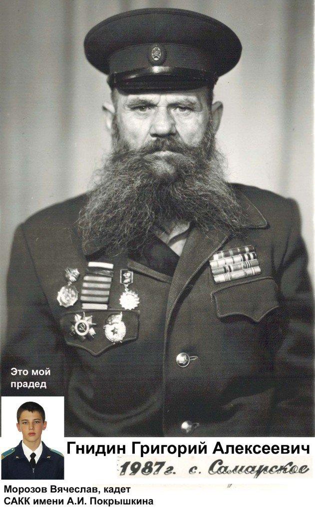 Гнидин Григорий Алексеевич